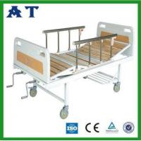Buy cheap Three folding wooden patient bed from Wholesalers