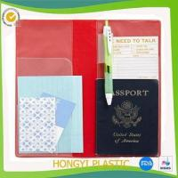 Wholesale Book cover plastic travel organizer from china suppliers