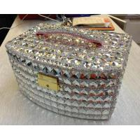 Buy cheap Brand jewel box crystal sticker Cosmetic box with diamond from wholesalers