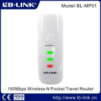 Wholesale 150Mbps Wireless N Pocket Travel Router from china suppliers