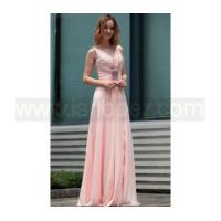 V-Neck Latest Women Boutique best evening dress & prom dress