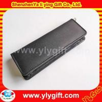 Wholesale PU leather pen case PU leather pen case from china suppliers