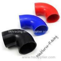 "Wholesale 4"" to 3"" Black 90 degree Reducer Elbows Silicone Hose 102mm to 76mm from china suppliers"