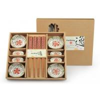 Promotion Items ceramic bowls and chopsticks gift set