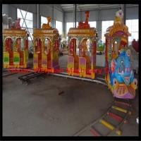 Wholesale kids and adults Big Elephant Track Train Rides from china suppliers