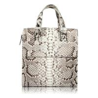 Wholesale Famous designer luxury real python skin leather handbag tote bag for business from china suppliers