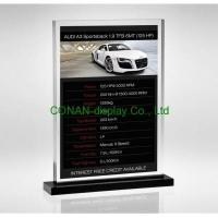 Buy cheap Freestanding poster or sign holder from Wholesalers