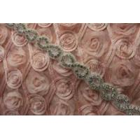 Wholesale Newest shining bridal sash applique trimming for wholesale from china suppliers