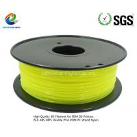 Wholesale ABS filament Transparent Yellow color 1.75/3.0mm from china suppliers