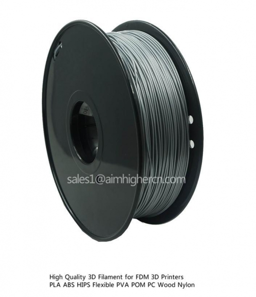 Quality HIPS filament Silver color 1.75/3.0mm for sale