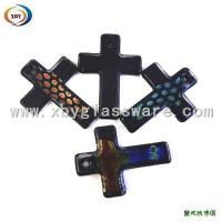 Wholesale Crystal Glass Cross Pendant Necklace from china suppliers