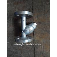 Wholesale DIN flange end Y strainer Flanged Y Type Strainer/Filter for water, oil and gas from china suppliers