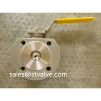 Buy cheap Stainless steel ball valve Wafer Type Ball Valve With Direct Mounting Pad DIN PN16/40 from wholesalers