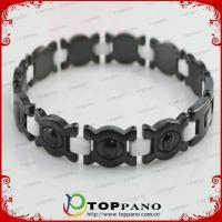 Wholesale fashion braided energy jewelry metal bracelet for promotion from china suppliers