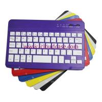 Wholesale BT15 7inch Slim Bluetooth Keyboard Compatiable with Apple OS,Windows, Android,6Colors.Hot Selling from china suppliers