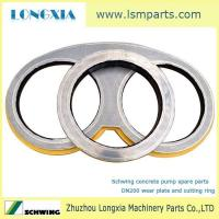 Wholesale Schwing concrete pump DN200 wear plate and cutting ring from china suppliers
