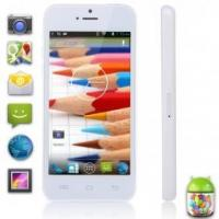 Wholesale xiaocai X800 4 inch Smart Phone MTK6572 Dual Core 3G WCDMA GPS WIFI White from china suppliers