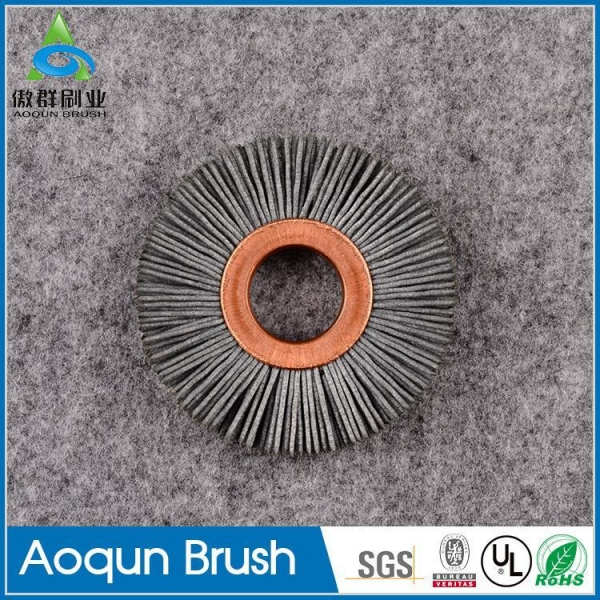 Center Abrasive Nylon Disc Brush 66