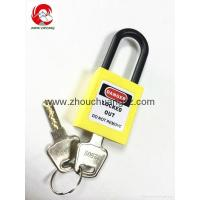 Wholesale ZC-G11 Yellow security lock and safe, safety padlocks lockout tagout from china suppliers
