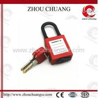 Wholesale ZC-G15 Nylon Short Shackle Dust-proof ABS Safety Padlock from china suppliers