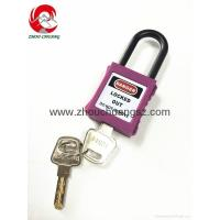 Wholesale ZC-G11 Purple Hot Sale Xenoy Safety Padlock Hight Quality Products Padlock from china suppliers