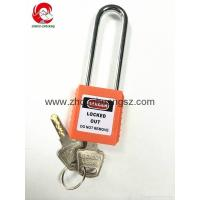 Wholesale ZC-G21 Compact Xenoy Safety Padlock, Steel Long Shackle, All Colors Available from china suppliers