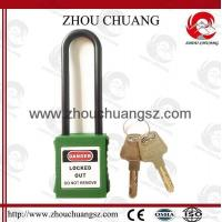 Wholesale ZC-GL11 Non-Conductive Nylon Long Shackle, ABS Padlock Body,Xenoy Safety Padlock from china suppliers