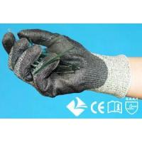 Wholesale 10-3G243 10-3G247 DSM new generation HMPE yarn 3g10 knitting glove with Polyurethane coated on palm from china suppliers