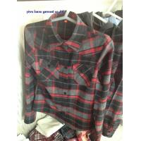Wholesale Lady flannel shirts checked/plaids flannel shirts for woman from china suppliers