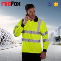 flame retardant polo work shirts reflective tape
