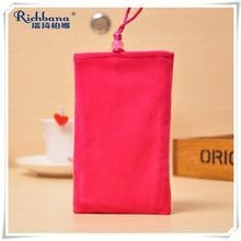Quality RUIQI hang neck red mobile gift pouches for sale