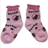 Buy cheap Pink Ankle Baby Socks from Wholesalers