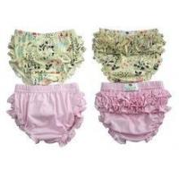 Fashion style floral bloomers high quality toddler girls bloomers high quality ruffle bloomers