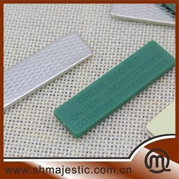 Quality Wholesale Green Plastic Magnetic Clip For Clothes for sale
