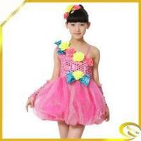 Wholesale Missyuan girls ballroom dance top saels performance costumes for kids from china suppliers
