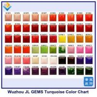 Wholesale New Synthetic Turquoise Gemstone Color Chart from china suppliers