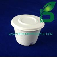 Buy cheap Sugarcane Pulp Bowl with Lid from wholesalers