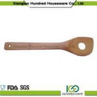 China wholesale new bamboo spoon fork bamboo spoon with hole set