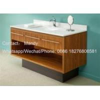Wholesale hotel bathroom cabinet hot sell wooden cabinet vanity from china suppliers