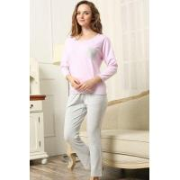 Buy cheap New Products HOME Women's Winter Thermal Knit Pajama Set from Wholesalers