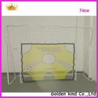Wholesale Factory sale inflatable soccer goal post with shooting hole from china suppliers