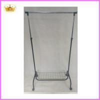 Wholesale Cloth rack supplier Folable metal single bar laundry drying rack from china suppliers