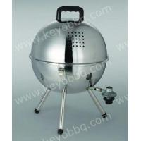 Wholesale Gas BBQ Grills Mini gas football BBQ with stainless steel from china suppliers