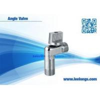 Wholesale Silver Zinc Angle Valve For Toilet , Braided Hose , Faucet , Water Tap from china suppliers