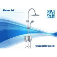 Buy cheap Powerful Rainforest Shower Bathroom Columns Stainless Steel With Soap Dispenser from Wholesalers