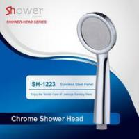 Chrome Hand Shower with Stainless steel Shower Panel