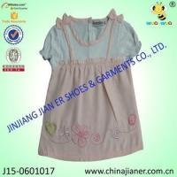 Wholesale 100%cotton wholesale baby girl party dresses from china suppliers