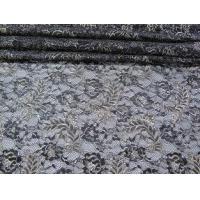 Wholesale Vintage Metallic Lace Fabric Blue , Nylon Tulle Floral Lace Fabric SYD-0002 from china suppliers