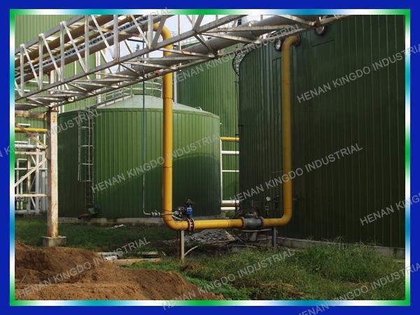 Kingdo Technology And Turnkey Project Of Mathane Gas Biogas Plant Of Item 44354337