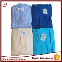 Wholesale Good Quality Cheap 100% Cotton Custom Cotton Bathrobe from china suppliers